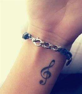 52 Music Tattoos On Wrist