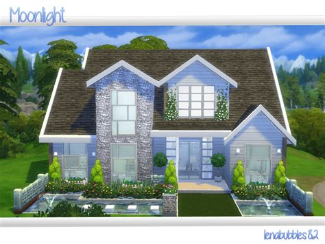 of sims 4 house building small modernity lenabubbles82 s moonlight Best
