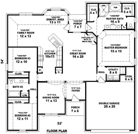 3 bedroom 2 bathroom house plans 3 tiny house plans house floor plans 3 bedroom 2
