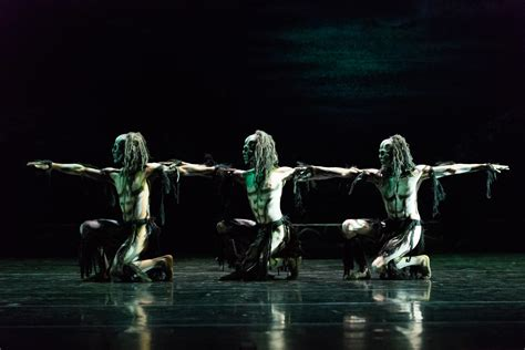rambert ghost dances   works review