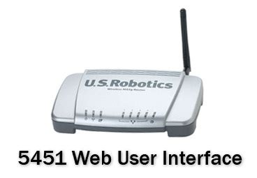 USRobotics Wireless MAXg Access Point User Interface ...
