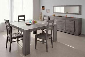 Table de salle à manger carrée Chypre II Buffet/bahut Soldes Salle à manger PROMOS