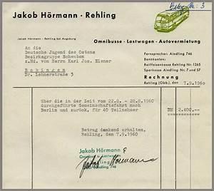 Rechnung Fahrtkosten : 7 2 2 4 schwaben berlin fahrt 1960 abrechnung ~ Themetempest.com Abrechnung