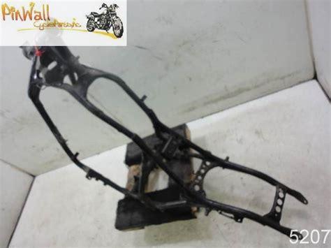 86 Honda Shadow Vt500 500 Frame Chassis