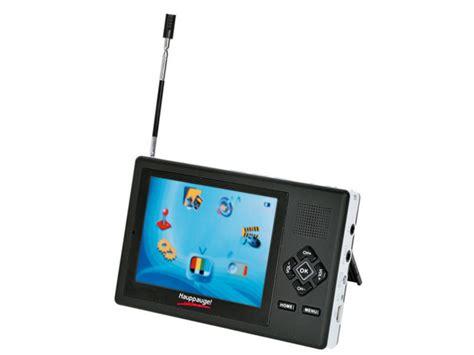 hauppauge mytv player mobiler tragbarer fernseher mit