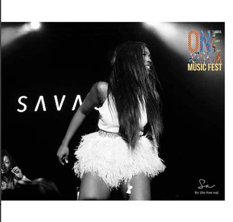 Tiwa Savage Rocks Mini Skirt For Her One Africa Music Fest