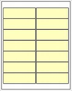 Avery Label Template 5162 Buff Ivory Blank 4 X 1 33 Labels