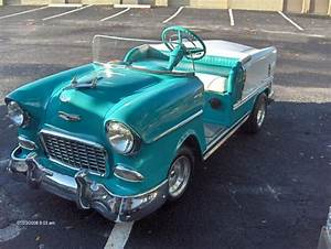 55 Chevy Pedal Car