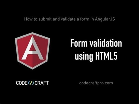 form validation using html5 s01 ep04 how to submit and