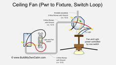 Way Switch Diagram Power Into Light For The Home