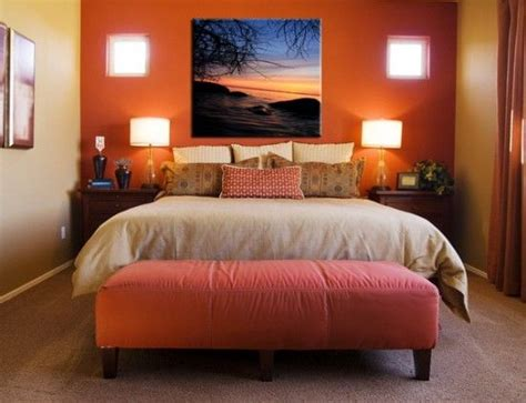 Decorating Ideas For Orange Bedroom by Best 25 Orange Bedrooms Ideas On Burnt Orange
