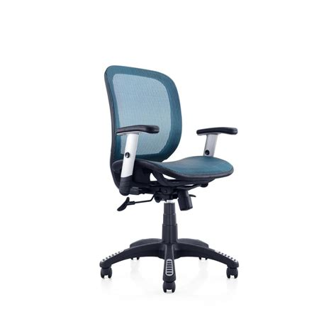 canary blue mesh office chair msh102bl the home depot