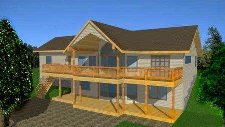 ranch house plans  walkout basement house plans  walkout basementdaylight foundations
