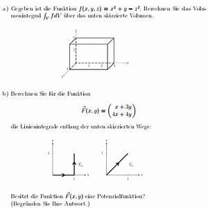 2 Wege Frequenzweiche Berechnen : integral volumenintegral linienintegrale entlang der ~ Themetempest.com Abrechnung