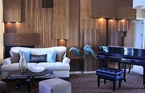 Splendid wood panel wall art decor decorating ideas for Living room wood paneling decorating