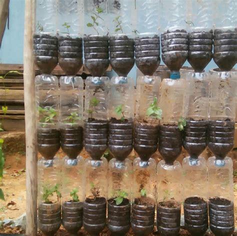 keren ide kreatif membuat pot gantung botol