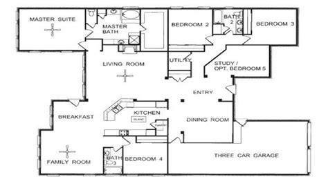 home plans single one floor plans one open floor house plans