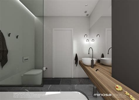 Minosa Design: Bathroom Design Small space feels large