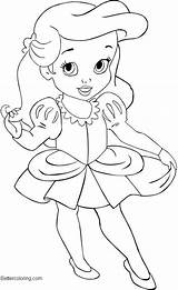 Princess Disney Coloring Easy Drawing Pages Baby Printable Adults Blank Bingo Template Bettercoloring sketch template