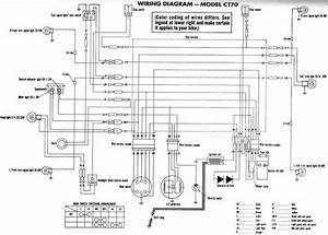 Honda Ct70  Clymer  Electrical Wiring Diagram