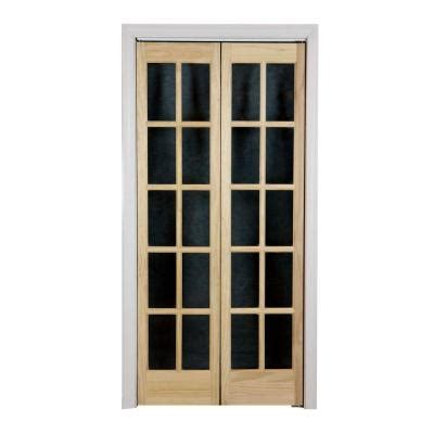 interior glass doors home depot pinecroft 36 in x 80 in glass wood