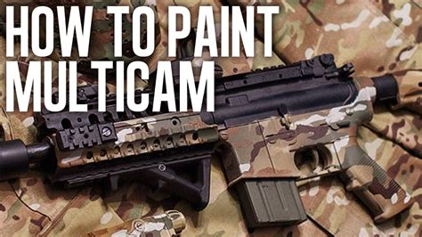 how to paint a l how to spray paint multicam legit youtube