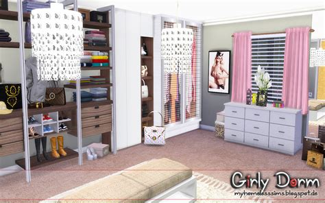sims  request girly dorm homeless sims sims