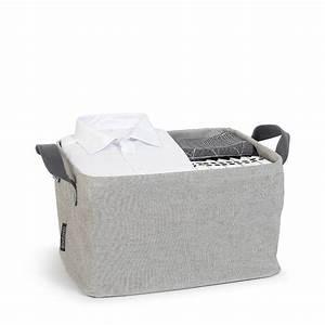 Panier à Linge Pliable : panier linge pliable 35 litres grey accessoires de ~ Dailycaller-alerts.com Idées de Décoration