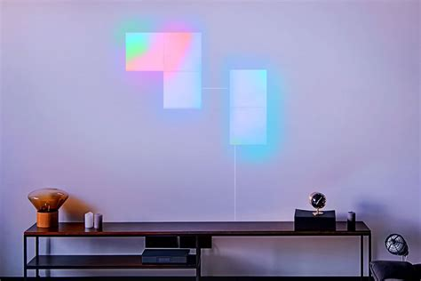 lifx s new wi fi connected wall panels light up in