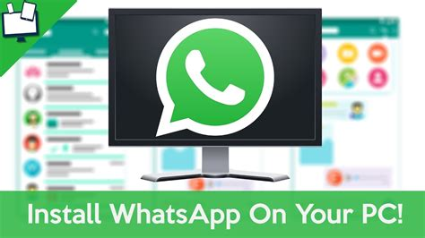 how to install whatsapp windows 10 computer really easy youtube