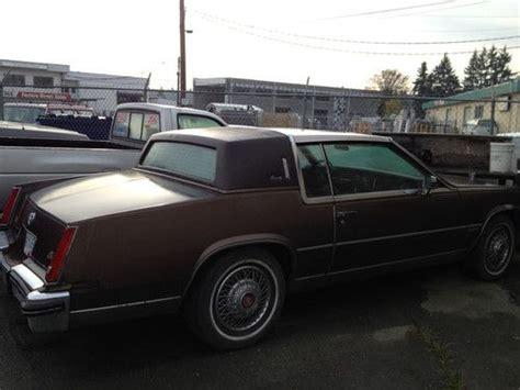 Buy Used 1982 Cadillac Eldorado Biarritz 2 Door Coupe
