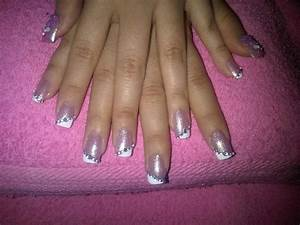 Clear Nail Designs With Flowers Acrylic Art Nail Home Decoration Live