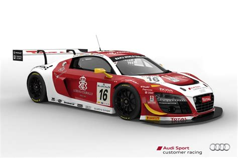 Race Cars by Seven Audi R8 Lms Ultra Race Cars To Tackle 2013 Spa 24 Hours