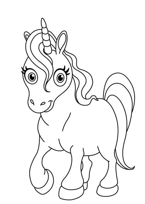 Kleurplaten Baby Eenhoorn by De 40 Allerleukste Paarden Kleurplaten Voor Kinderen