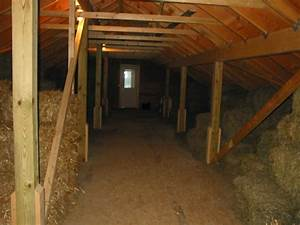 Fox Mountain Farm  Upstairs In The Barn