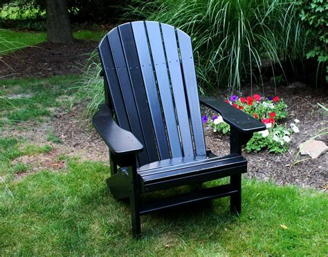 Furniture: Plastic Adirondack Chairs For Inspiring Outdoor