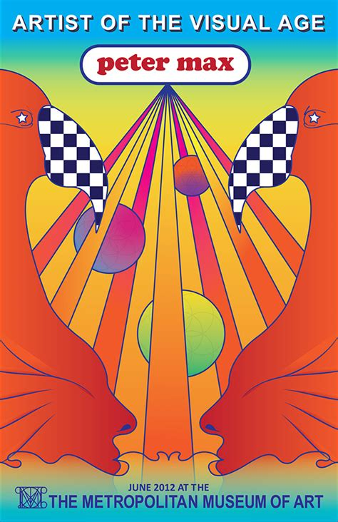 peter max event poster  behance