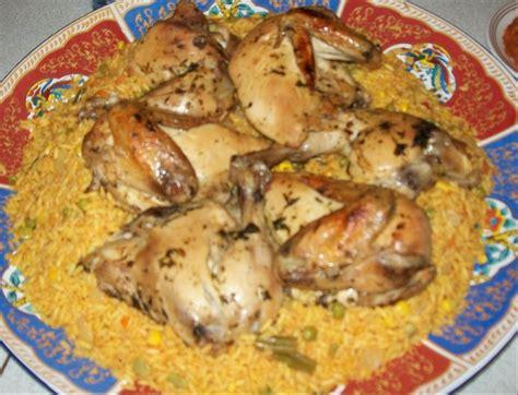 ratiba cuisine recettes de poulet au four a la marocaine
