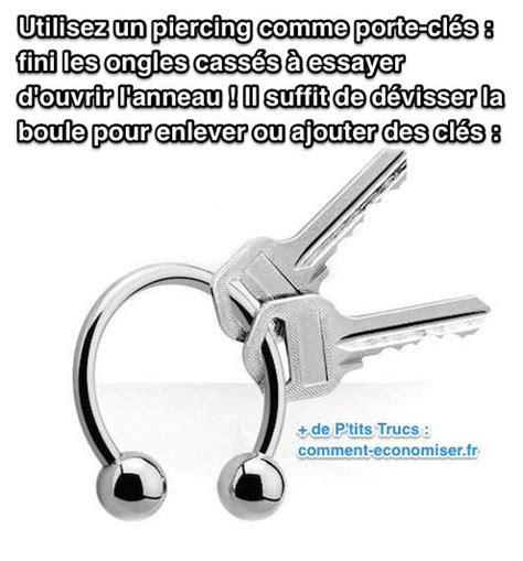 utilisez un piercing comme porte cl 233 s fini de vous casser les ongles