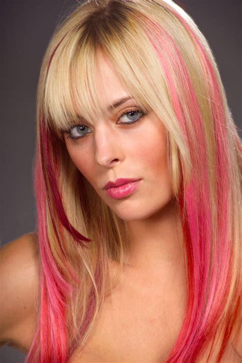Pink Hair Types Photos