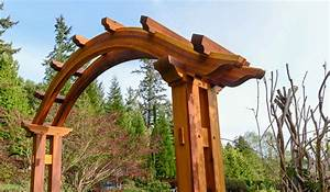 Arched Pergola, Building Time Lapse - The Samurai Carpenter