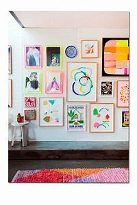 InspiraciA?n en decoraciA?n: paredes con cuadros