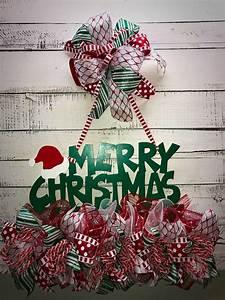 Christmas Door Hanger, Christmas Door Décor, Holiday Door