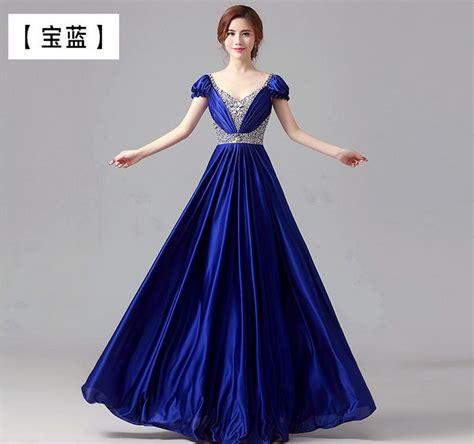 evening dress   big chorus dress long dress