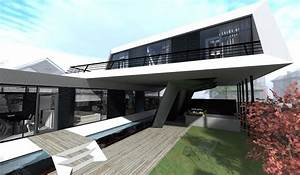 Is, House, A, Futuristic, Modern, Concept, Designed, By, Steep