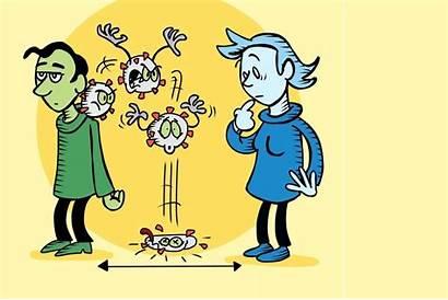 Distancing Social Coronavirus Fomites Spread Importance