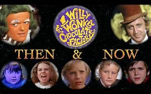 Willy Wonka and the Chocolate Factory Cast - Then and Now ...