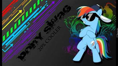 Swag Pony Rainbow Dash Mlp Coller Tapety
