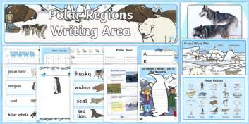 Polar Regions Writing Area Resource Pack  The Arctic, Polar Regions, North