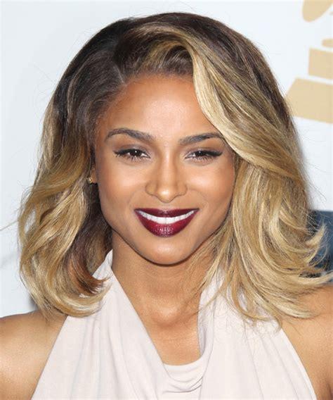 Ciara Hairstyles by Ciara Medium Casual Hairstyle And